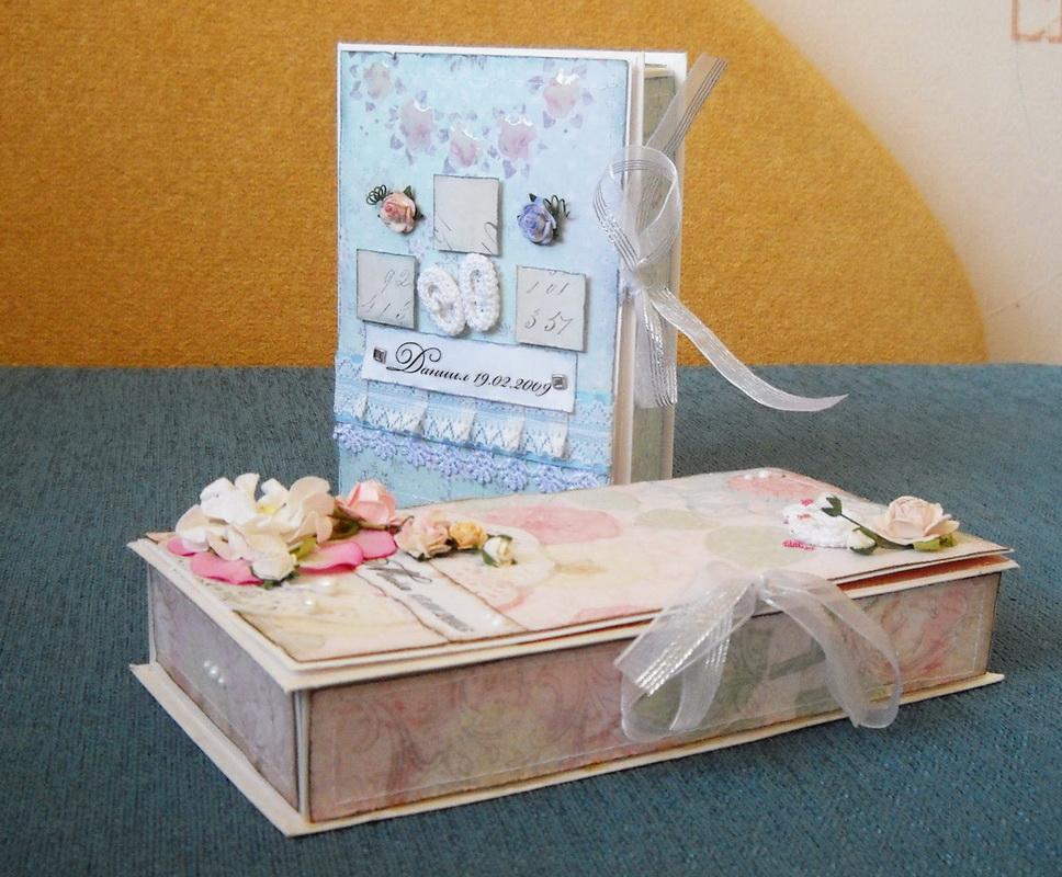 Скрап-коробочки от Катерины